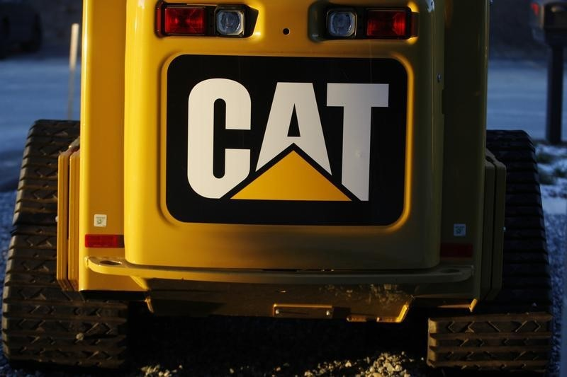© Reuters.   Caterpillar Touches New Record After Bullish Analyst Expectations