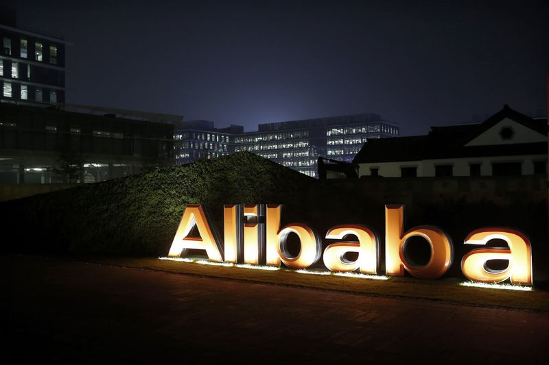 © Reuters. Alibaba Spends $3.3 Billion to Raise Stake in Delivery Arm