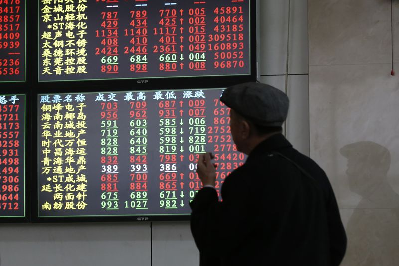 Asian Stocks Mixed Ahead of Fed Meeting