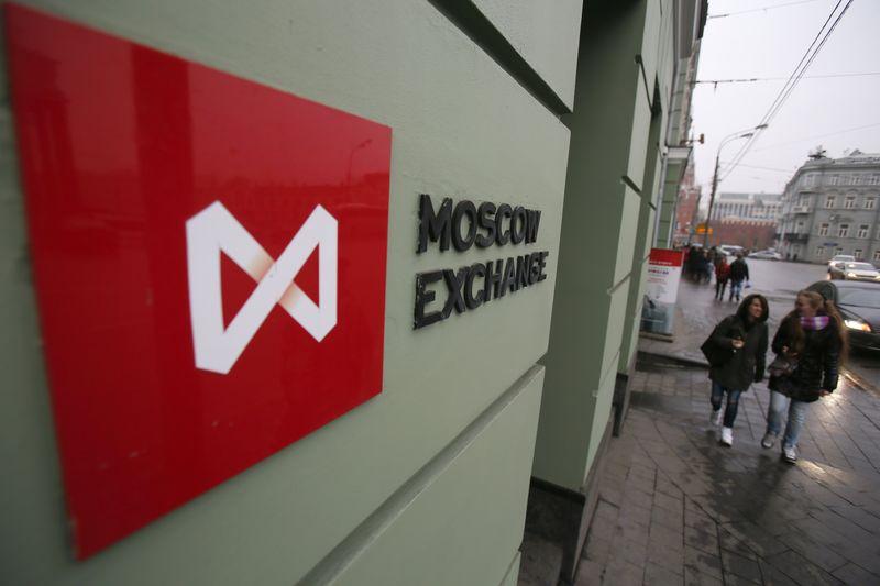 © Reuters.  Рынок акций  РФ закрылся падением, Индекс МосБиржи снизился на 1,06%