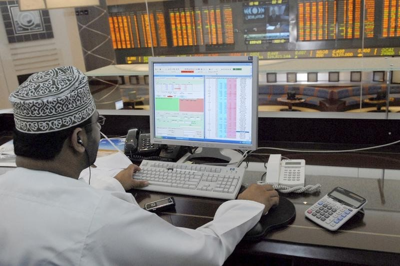 © Reuters.  United Arab Emirates stocks mixed at close of trade; DFM General up 0.32%