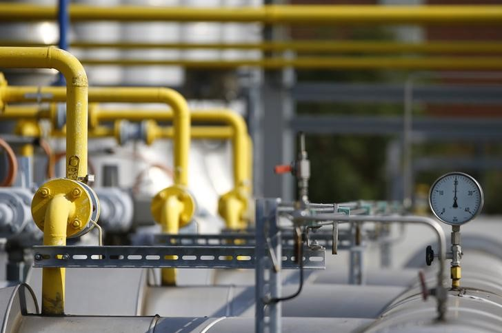 © Reuters.  Natural gas futures fall for second day in a row