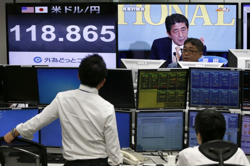 © Reuters.  GLOBAL MARKETS-Asia shares plummet after Wall St rout; Shanghai at near 4-year lows