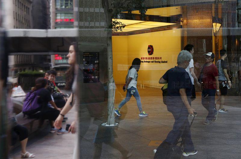 © Reuters.  Bolsa de Hong Kong: Hang Seng abre em baixa de 1,58%
