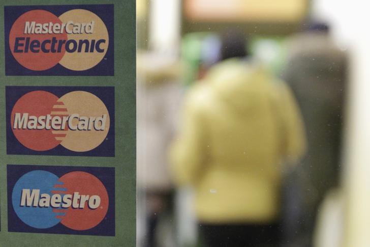 © Reuters. Mastercard Stock Rises 3%