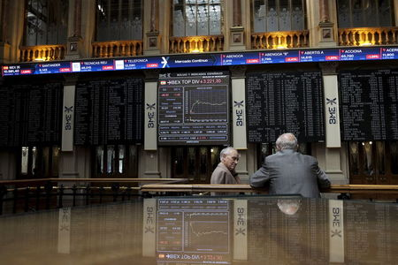 Spain stocks higher at close of trade; IBEX 35 up 0.03%