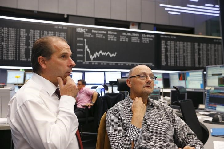 © Reuters.  European markets move lower amid fresh geopolitical concerns