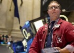 Stocks - Dow Reverses Fed-Induced Gains as Financials Slump