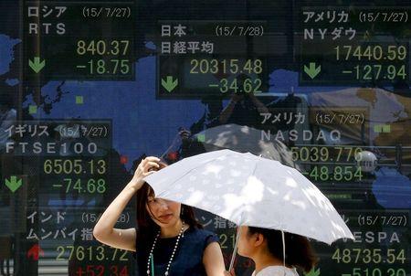 GLOBAL MARKETS-Asia stocks wary as coronavirus threatens economic reopening