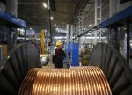 LME copper edges down on disappointing China credit growth