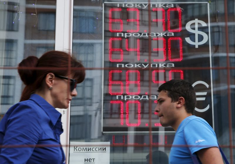 © Reuters.  Средний курс евро со сроком расчетов
