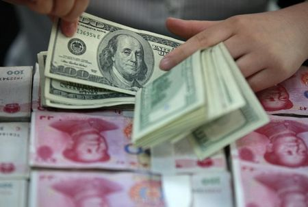 Forex - PBOC Sets Yuan Parity At 6.5867 Vs Dollar, weakest since Sept. 1