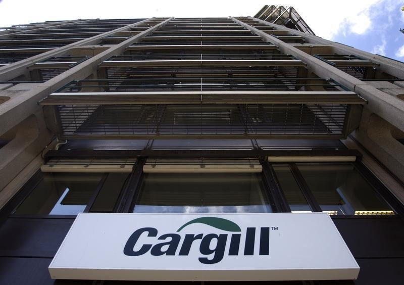 Commodities trader Cargill's quarterly adjusted profit rises 3% By Reu