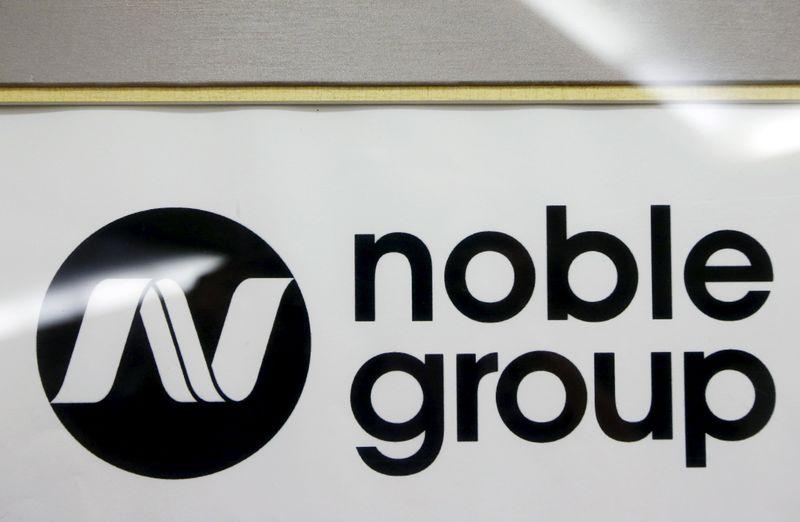 © Reuters.  Ações do Grupo Noble caem ao menor nível desde 1999 após renúncia de co-CEO