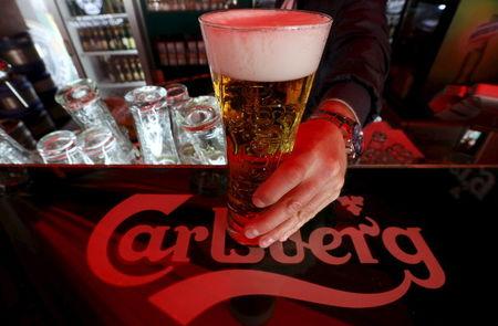 Рынок Европы ослаб, но Carlsberg вырос