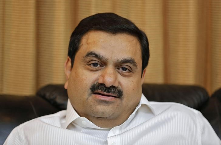 © Reuters.  Australia in final stages of mulling loan for India's Adani