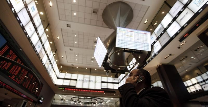 © Reuters.  Рынок акций  Бразилии закрылся ростом, Bovespa прибавил 1,05%