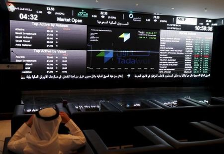 Saudi Arabia stocks lower at close of trade; Tadawul All Share down 0.42%