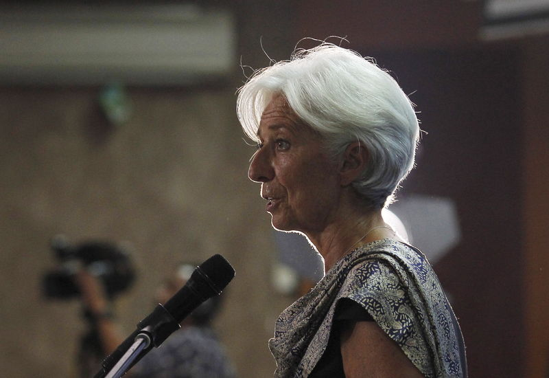 © Reuters.  Lagarde Wants an `Economic Ballet.' It Could Be a Mosh Pit.
