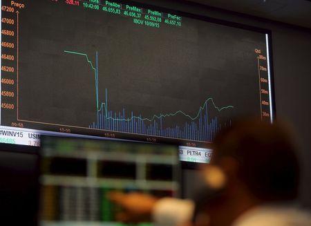 مؤشرات الأسهم في البرازيل ارتفعت عند نهاية جلسة اليوم؛ مؤشر بوفيسبا صعد نحو 1.62%