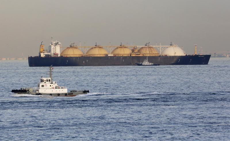 © Reuters.  Τα προθεσμιακά φυσικού αερίου υψηλότερα