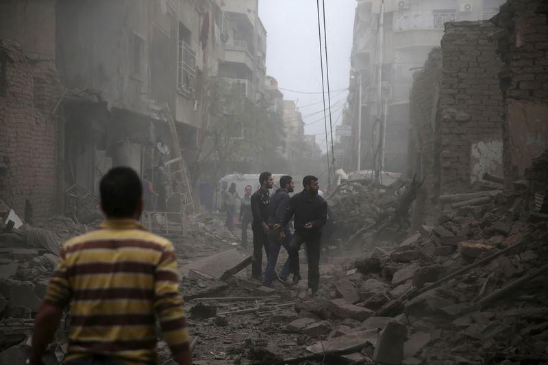 © Reuters.  В Москве категорически против повторения в Сирии иракского сценария - Матвиенко