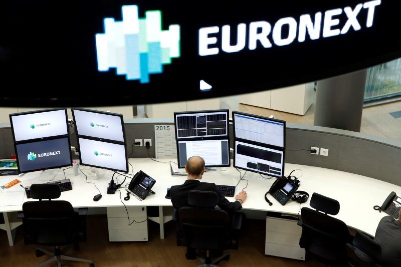 © Reuters.  Aktien Europa: Abwarten vor EZB-Sitzung und Quartalszahlen