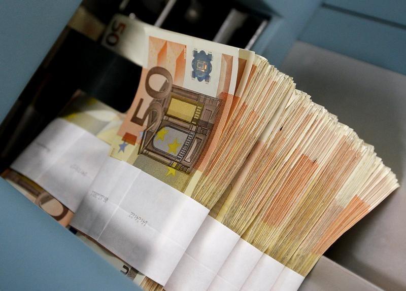 © Reuters.  Devisen: Eurokurs steigt leicht