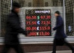 Forex - Russian ruble falls to record low as oil prices tumble