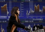 Asian stocks edge up in April after two straight retreats