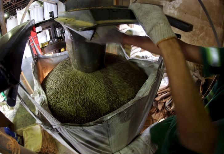 SOFTS-New York cocoa slips as charts sour; white sugar, arabica coffee rise