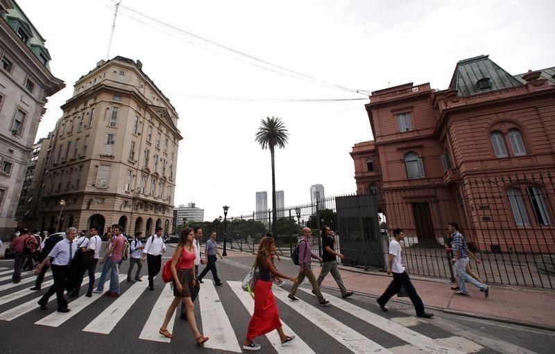 Argentina poverty rate jumps to 40.9% in first half of 2020 - statistics agency