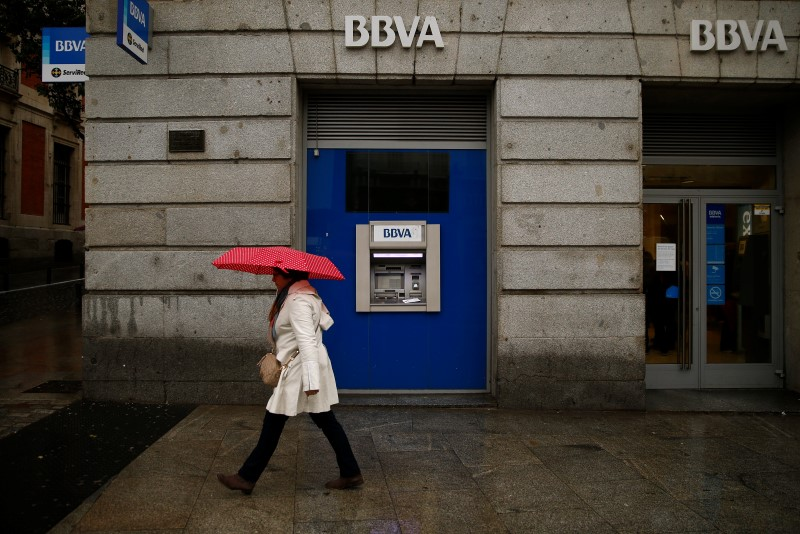 © Reuters. Image of BBVA Headquarters