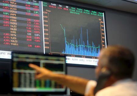 巴西股市上涨;截至收盘巴西IBOVESPA股指上涨1.25%