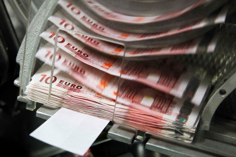 © Reuters.  Euro cai para US$ 1,1666 em Frankfurt