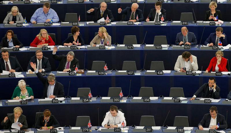 © Reuters.  Европарламента намерен ужесточить позицию по клирингу операций в евро - FT