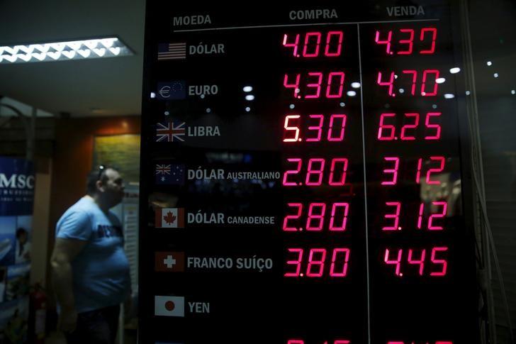 © Reuters.  Cotizaciones de las monedas latinoamericanas frente al dólar estadounidense