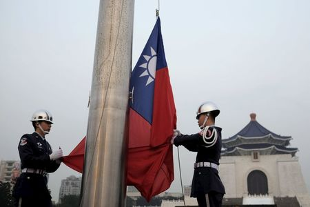 Taiwan shares higher at close of trade; Taiwan Weighted up 0.06%