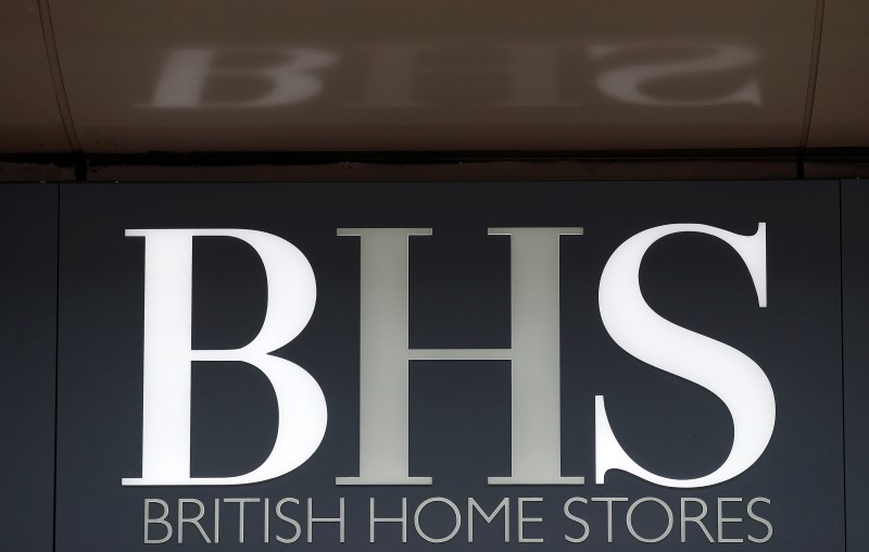 © Reuters.  UK proposes governance code for private companies after BHS collapse
