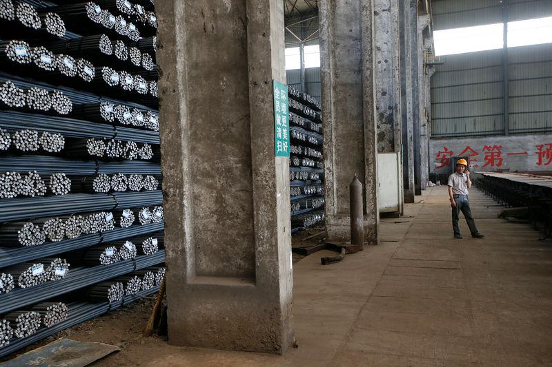 © Reuters.  Em Dalian, contratos futuros do minério de ferro têm alta de 1,61%