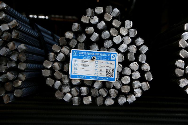 © Reuters.  Exportações de aço do Brasil para os Estados Unidos sobem após tarifa