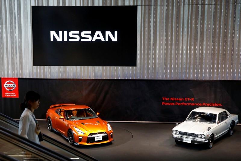 © Reuters.  Nissan expands Ghosn probe to more countries, executive Munoz under scrutiny -sources