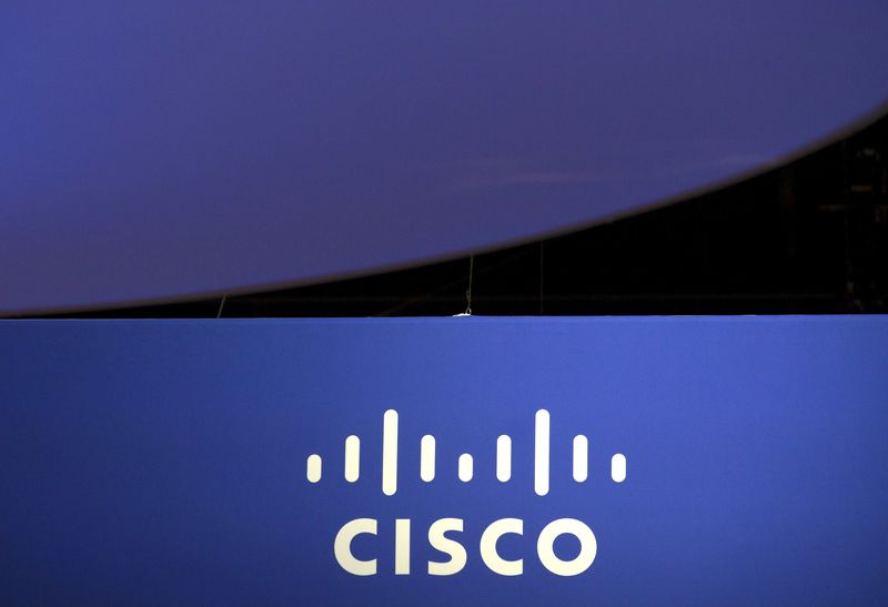 © Reuters. Cisco Earnings, Revenue Beat in Q4