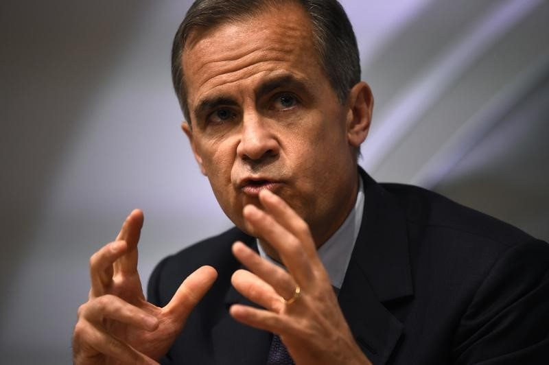 © Reuters.  Bank of England chief expects inflation to exceed 3%