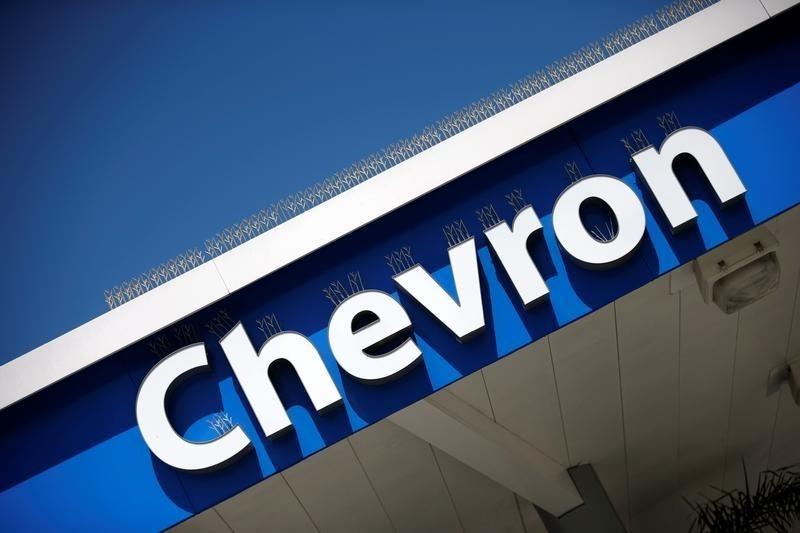 © Reuters. Chevron Rises 3%
