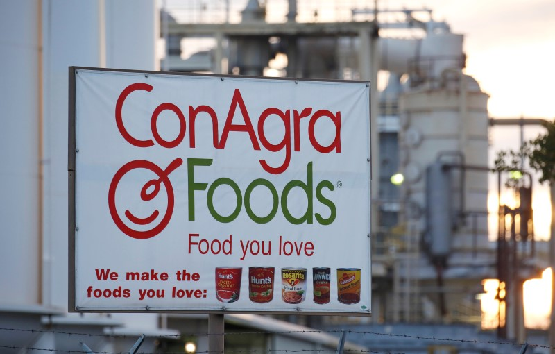 StockBeat - Conagra Feeds Investor Appetite, Reaffirming Outlook; Shares Rally