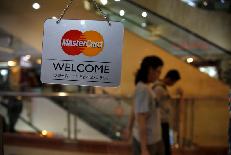 Mastercard Falls 3.11% By Investing.com