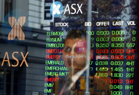 Australia shares lower at close of trade; S&P/ASX 200 down 0.21%