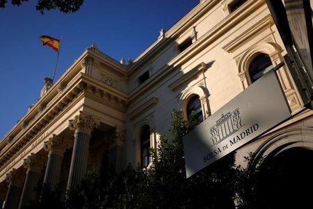 مؤشرات الأسهم في إسبانيا هبطت عند نهاية جلسة اليوم؛ إيبكس 35 تراجع نحو 0.52%