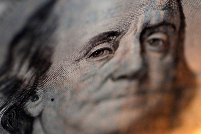 © Reuters.  FOREX-Dollar advances after strong U.S. data, Fed minutes